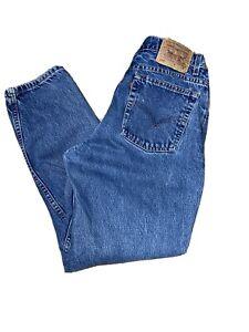 1978 Levi/'s Womenswear Jeans Vintage PRINT ADROBERT TANENBAUMBlonde Girl