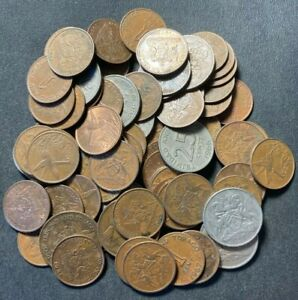 Old Trinidad and Tobago Coin Lot -  70+ Great Coins - Lot #A12