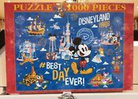 PUZZLE 1000 PIECES PARK / Parc PASSPORT / Passeport Disneyland Paris