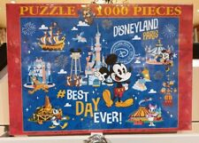 PUZZLE 1000 PIECES PARK / Parc PASSPORT / Passeport Disneyland Paris