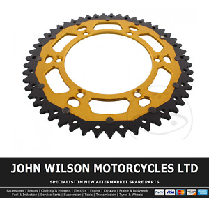 Husqvarna SMR 630 Seel Replica 04 - 08 ZF Aluminium Steel Gold Rear Sprocket 51T