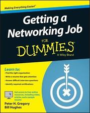 Getting a Networking Job For Dummies (For Dummies (Computers))-ExLibrary