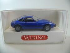 Wiking h0: 804 04 24 Opel GT 'blau', neu