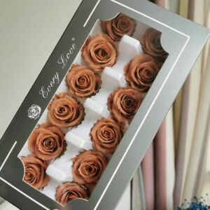 Wedding Gift Roses Flowers Box Fresh Preserved Eternal Head Birthday Gifts Party