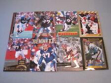 V) Lot of 90 CORNELIUS BENNETT FOOTBALL CARDS HUGE PREMIUM BRANDS BILLS