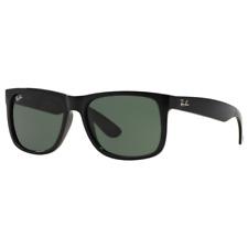 RayBan Justin Classic Sunglasses - Black Green Classic - RB4165 601/71 55-16