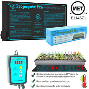 "Waterproof Seedling Heat Mat Seed Starter Pad Germination Propagation 20"" 48"" 4'"