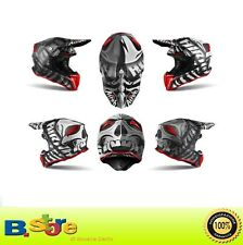 Casco Cross Enduro Motard Airoh Twist Shading Red Gloss 2019 Taglia M (57-58)