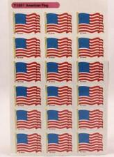 1989 Trend Enterprises Inc. Super Stickers. 4 sheets. Sleeved. American Flag