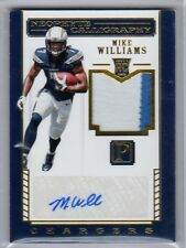 2017 Pantheon Mike Williams Rookie Auto 2 Color Jersey /25 Chargers