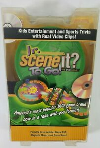 Jr. Scene? It To Go Entertainment and Sports Trivia Travel Size DVD Game
