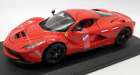 Burago 1/18 Scale Diecast 18-16001R Ferrari LaFerrari Supercar Red Black Wheels