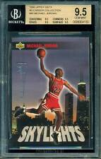 "1998 UPPER DECK MJ RETRO COLLECTION #40 ""SKYLIGHTS"" MICHAEL JORDAN *BGS 9.5. 1/1"