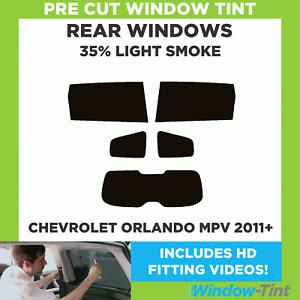 CHEVROLET ORLANDO MPV 2011+ 35% LIGHT REAR PRE CUT WINDOW TINT