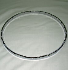 """Banjo Tension Hoop-11"""" notched chrome plated brass"""