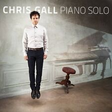 CHRIS GALL - PIANO SOLO  CD NEUF