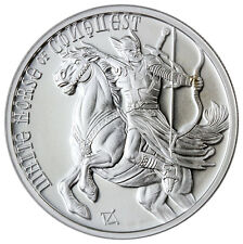 Golden Mint Four Horsemen Apocalypse Horse Conquest 1 oz Silver Round SKU46023
