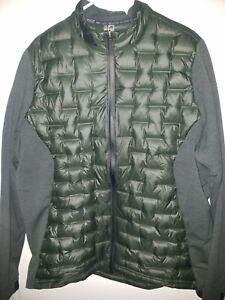 Adidas Golf Frost Guard Dark Green Insulated Puffer Jacket Size XL DZ8545