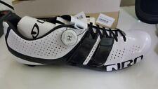 Giro Factor Techlace Road Cycling Shoes 2017: White/black 44