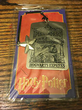 Harry Potter Metal Bookmark Hogwarts Express Platform 9 3/4 (New In Wrapper)