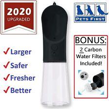 Portable PET WATER BOTTLE Travel DOG WATER BOTTLE on-the-go CAT WATER BOTTLE