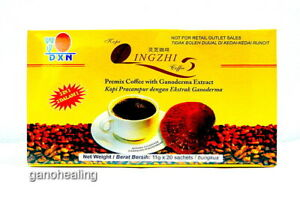 2 Boxes DXN Lingzhi Black Coffee 2 in 1 Ganoderma Reishi Instant Cafe Express