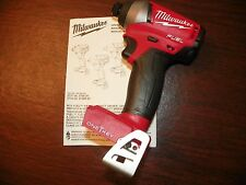"NEW!! Milwaukee M18 ONE-KEY Fuel 2757-20 Brushless 1/4"" Hex Impact Driver w/"