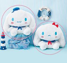 RARE NEW x2 BIG San-X Cinnamoroll Plush Sailor Stuffed Japan Sanrio Cute Melody