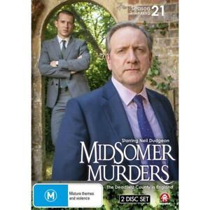 Midsomer Murders Season 21 - Part 2 (DVD, 2021) NEW