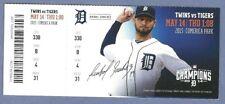 Miguel Cabrera HR 397 398 full season ticket 5-14-2015  Tigers Twins