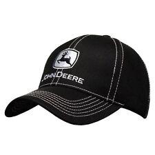 John Deere Hat, John Deere Cap, Trucker hat. 13080421   NWT. Black/white