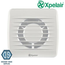 "Xpelair VX100T 4""/100mm Bathroom Toilet Extractor Fan With Timer 92931AW"