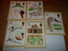 Swans 19 January 1993 PHQ 149 set Royal Mail Stamp Card Series MINT FREE POST