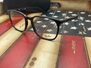 Ray Ban RB5387 2000 Eyeglasses Black 54mm Frame Option To Add RX