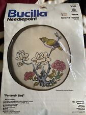 Bucilla Needlepoint Porcelain Bird