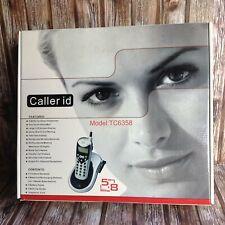 Curtis Multi Handset Cordless Telephones Caller Id Tc6358 Never Used Box Ec