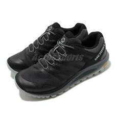 Merrell Nova 2 Black Grey Vibram Men Trail Running Outdoors Hiking Shoes J035561