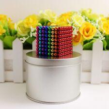 Fidget Building Set Multi Colored 216PCS 5mm Mgntic Balls 6 Color With Metal Box