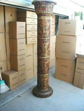 Egyptian 6' Columns Life Size Prop Decor Resin Statue