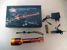 Police High Power del CREE LED linterna con USB batería incl., cargador 30058