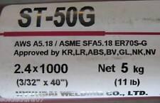 5 Kgr varilla acero Cobrizado soldar TIG 2 4 X 1000mm Hyundai soldadura Er70s-g