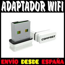 ADAPTADOR WIFI 150 MB PARA USB DONGLE RECEPTOR MINI WIRELESS LAN COMFAST 150Mbps