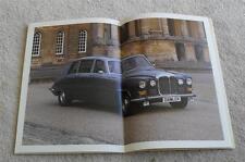 Daimler Brochure 1983 - Sovereign & Vanden Plas 4.2 - Double Six HE - Limousine