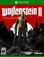 Wolfenstein II: The New Colossus For Xbox One Shooter Very Good 0E