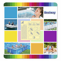 Bestway Flowclear 2.5 x 2.5 Inch Underwater Adhesive Repair Patches | 62091E