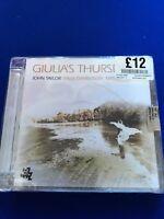 New Unwrap Damaged Case John Taylor - Giulia's Thursdays (2012) CD Jazz