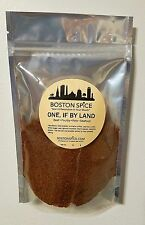 BOSTON SPICE ONE IF BY LAND FOR PORK BEEF POULTRY VEGETABLES SEAFOOD 1/2 CUP