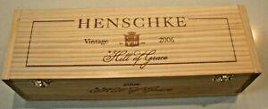 Henschke vintage 2006 Hill of Grace empty wine box