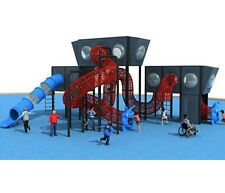 55'x45'x30' Playground & 4,500 sqft EPDM Flooring Package Special #19 We Finance
