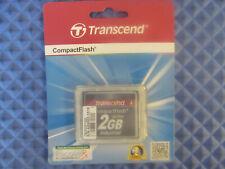 NOS Transcend Compact Flash TS2GCF100I